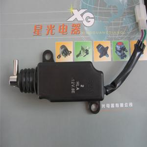 电控门锁电磁阀(直通式电磁阀)